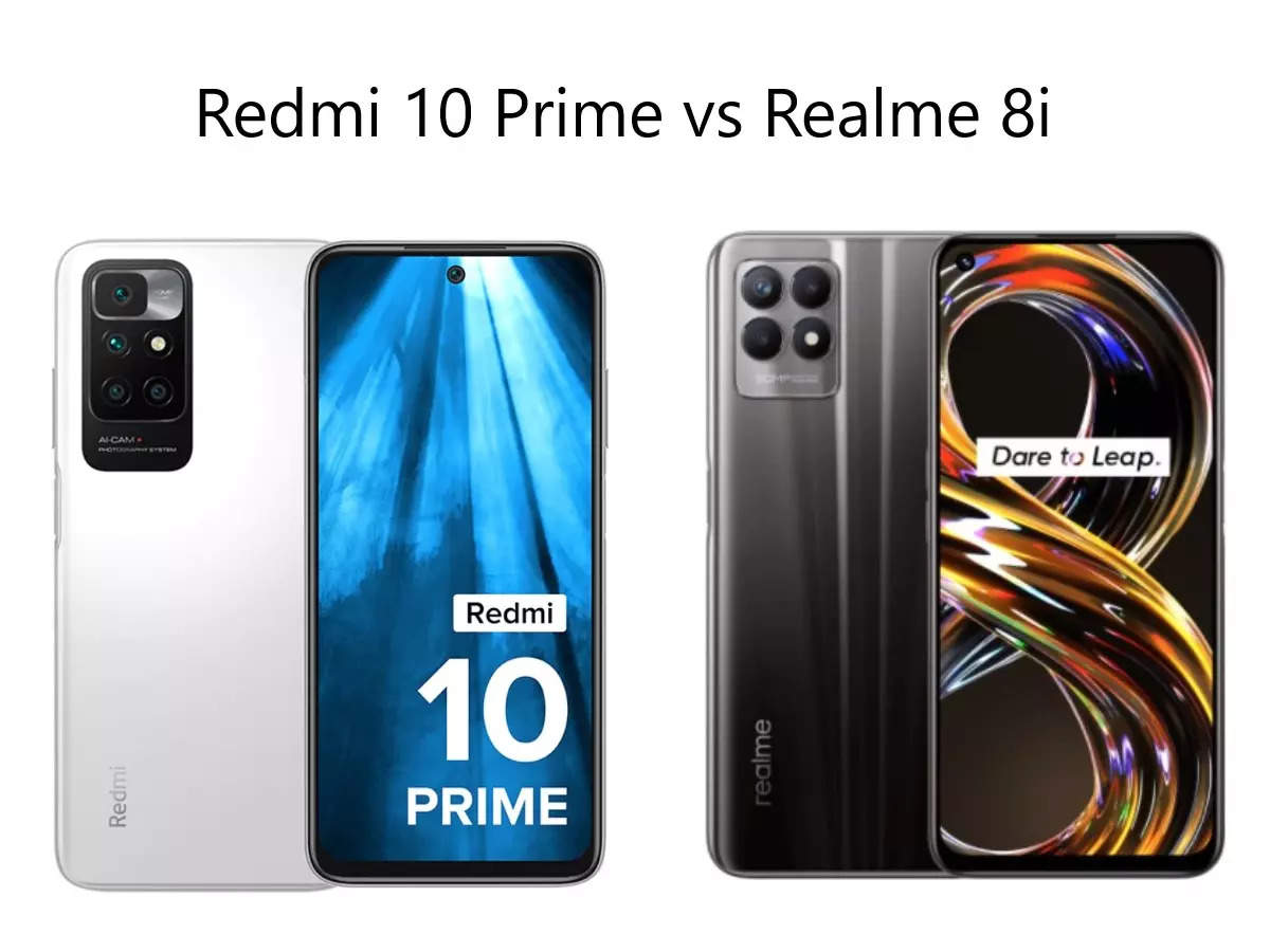 Cheapest Smartphone Under 15000: Redmi 10 Prime vs Realme 8i: Which is the best smartphone under 15 thousand with 50MP camera, know everything from features to price - redmi 10 prime vs realme 8i know which is best smartphone under 15000 read comparison from features to price