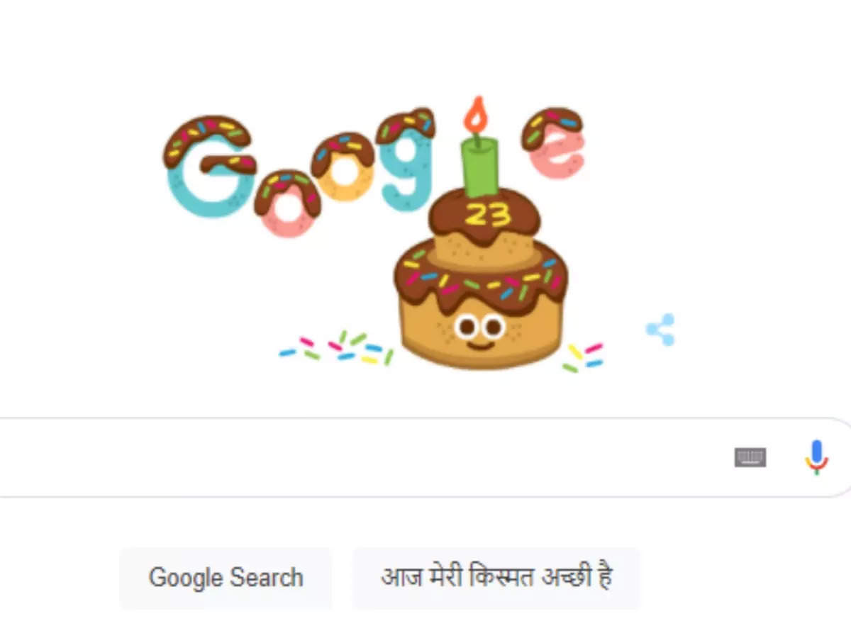Google 23rd Birthday See Google Doodle: Google is 23 years old, celebrating its birthday like this, do you know these interesting stories related to Google?  - google 23rd birthday today celebrates by making google doodle know interesting fact