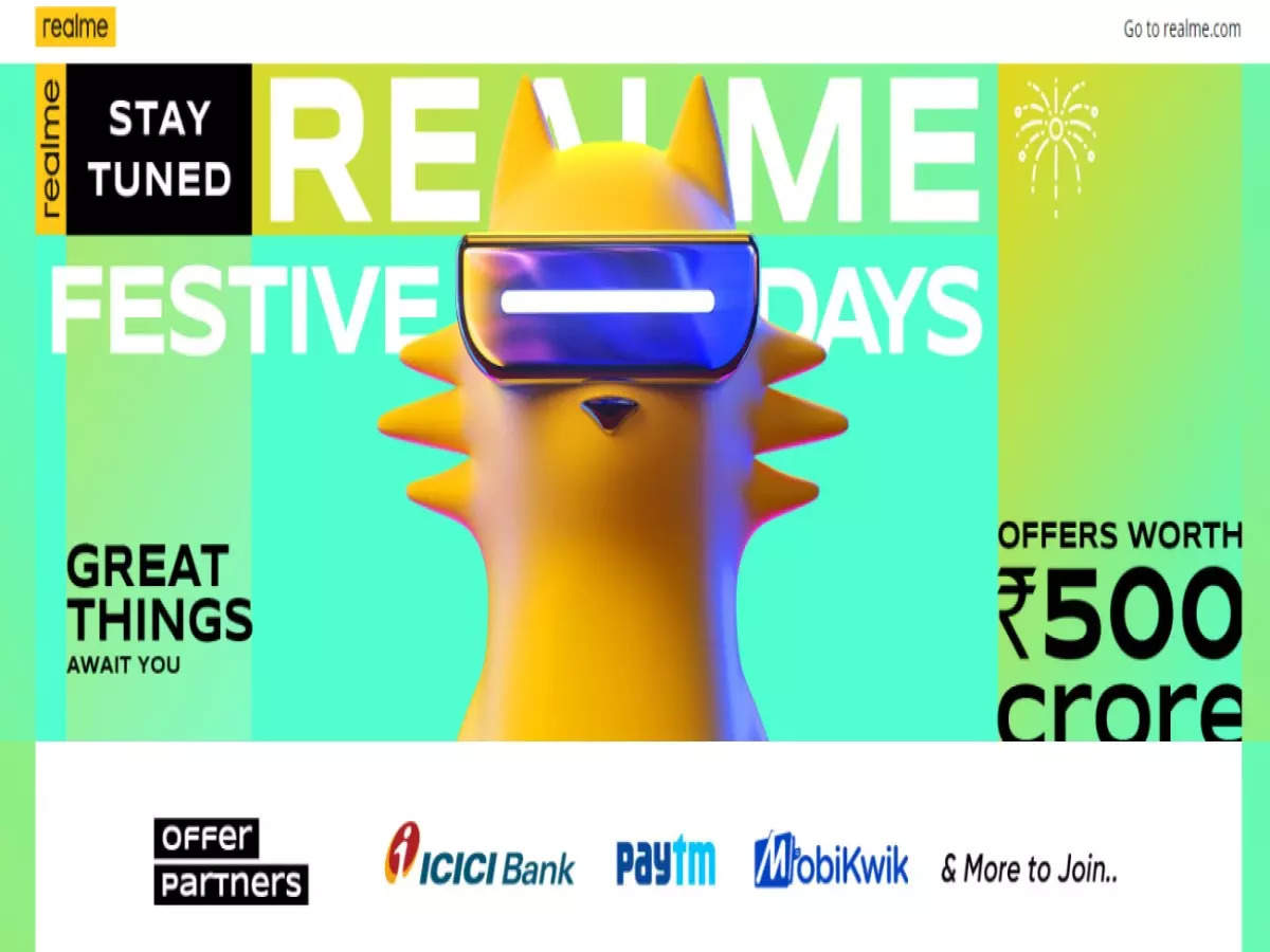 realme festive days sale announced: users will have silver in the festive season!  realme festive days sale starts soon in india with offers worth rs 500 crore know exciting deals and discounts