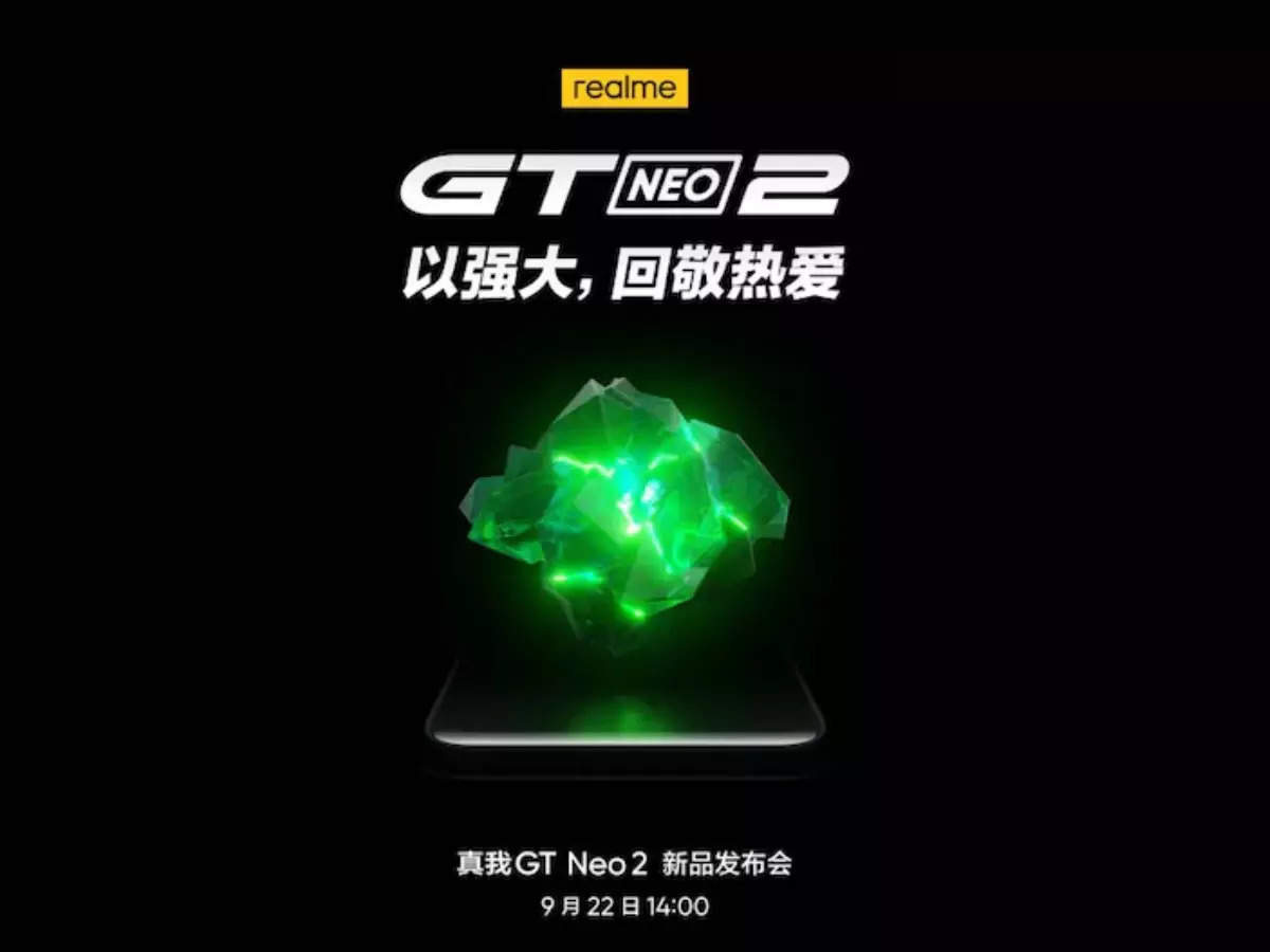 realme gt neo2 specs confirmed: Confirmed!  realme gt neo2 teaser confirmed to launch with sd 870 soc and 5000mah battery know expected details