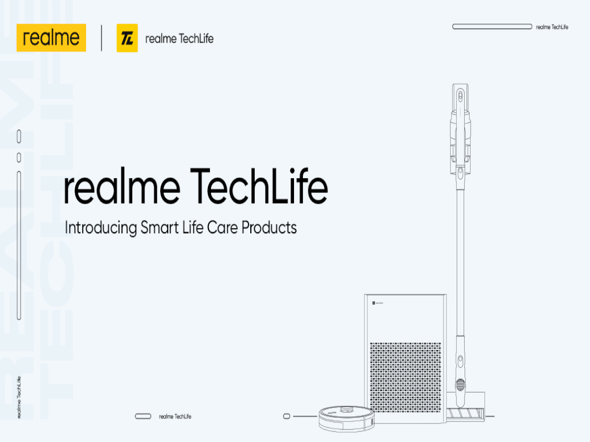 realme vacuum cleaner: realme's first vacuum cleaner is coming on 30 september, cheap enough that everyone will buy it;  This is the price - realme first smart vacuum cleaner air purifier coming on September 30 cheap enough for everyone to buy so is the price