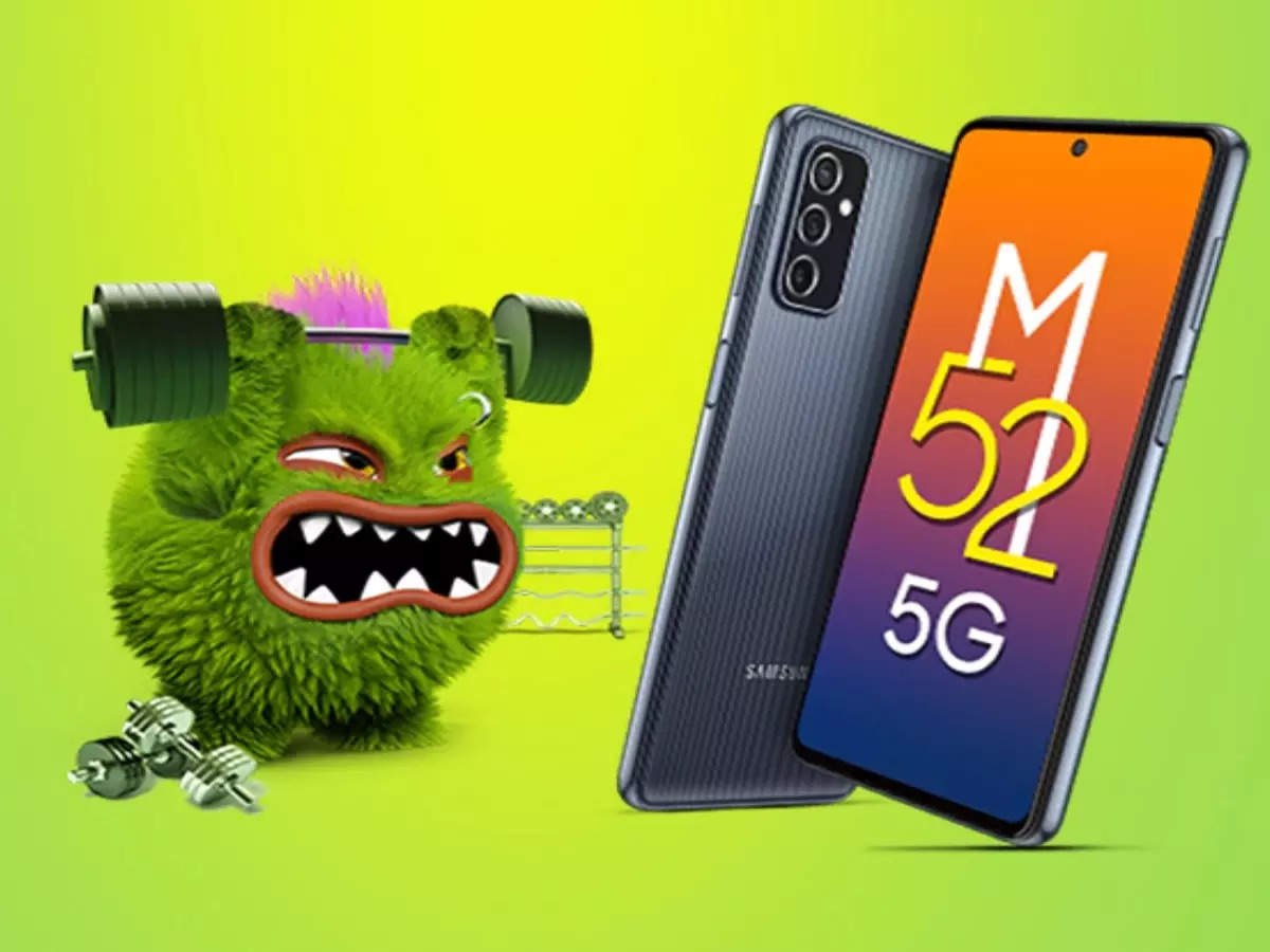 samsung galaxy m52 5g price & specs: Samsung Galaxy M52 5G launch with 120Hz display, will knock on this day in India